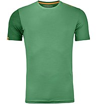 Ortovox 185 Rock'n Wool - Funktionsshirt - Herren, Green