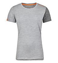 Ortovox 185 Rock'n Wool - Funktionsshirt Kurzarm - Damen, Grey
