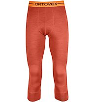 Ortovox 185 Rock'n Wool - calzamaglia - uomo, Orange