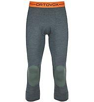 Ortovox 185 Rock'n Wool - Unterhose 3/4 lang - Herren, Dark Green