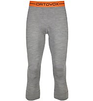 Ortovox 185 Rock'n Wool - Unterhose 3/4 lang - Herren, Light Grey