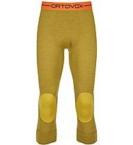 Ortovox 185 Rock'n Wool - Unterhose 3/4 lang - Herren, Yellow