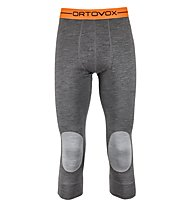 Ortovox 185 Rock'n Wool - calzamaglia - uomo, Dark Grey