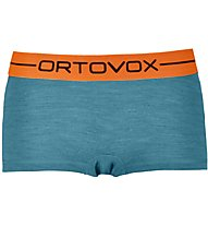 Ortovox 185 Rock'n Wool Hot - boxer - donna, Light Blue
