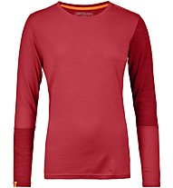 Ortovox 185 Rock'n Wool - Funktionsshirt - Damen, Red