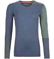 Ortovox 185 Rock'n Wool - Funktionsshirt - Damen, Blue/Green