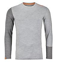 Ortovox 185 Rock'n Wool - maglia a manica lunga alpinismo - uomo, Grey