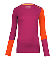 Ortovox 185 Rock'n Wool - Funktionsshirt - Damen, Violet