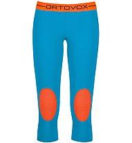 Ortovox 185 Rock'n Wool - Unterhose 3/4 lang - Damen, Blue