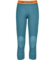 Ortovox 185 Rock'n Wool - Unterhose 3/4 lang - Damen, Light Blue