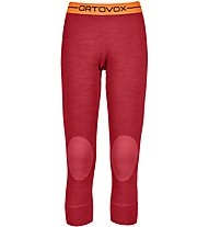 Ortovox 185 Rock'n Wool - Unterhose 3/4 lang - Damen, Red