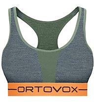 Ortovox 185 Rock'n Wool Sport Top W - Sport BH - Damen, Green