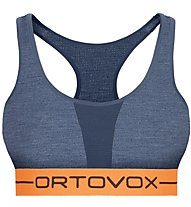 Ortovox 185 Rock'n Wool Sport Top W - Sport BH - Damen, Blue