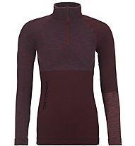 Ortovox 230 Competition - maglia tecnica a maniche lunghe - donna, Dark Red