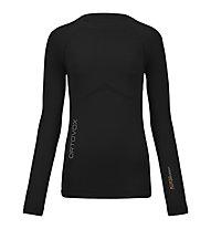 Ortovox 230 Competition Long Sleeve langärmliges Merino-Funktionsshirt für Damen, Black raven