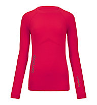 Ortovox 230 Competition Long Sleeve maglia manica lunga merino donna, Very Berry