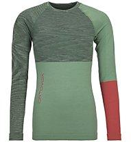 Ortovox 230 Competition - maglietta tecnica - donna, Green/Red
