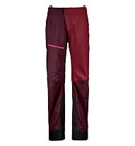 Ortovox 3L Ortler - Skitourenhose - Damen, Dark Red