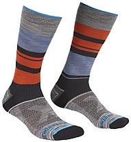 Ortovox All Mountain Mid - Kurze Socken - Herren, Grey/Blue/Orange