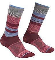Ortovox All Mountain Mid Warm - Kurze Socken - Damen, Red/Blue/Grey