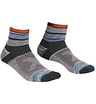 Ortovox All Mountain Quarter - calzini corti - uomo, Grey/Blue/Orange