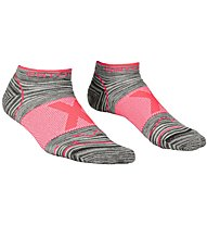 Ortovox Alpinist Low W - Merinosocken - Damen, Grey/Pink
