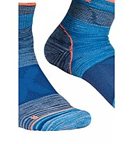 Ortovox Alpinist Quarter - calzini corti - uomo, Blue