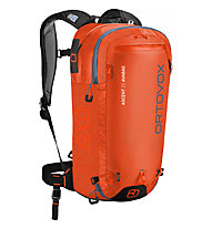Ortovox Ascent 22 Avabag - zaino airbag, Orange