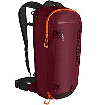 Ortovox Ascent 22 - zaino scialpinismo, Dark Red