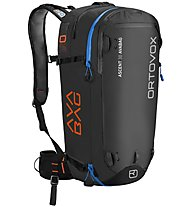 Ortovox Ascent 30 AVABAG - zaino airbag, Black