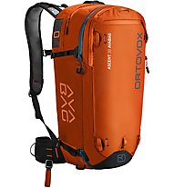 Ortovox Ascent 30 AVABAG - zaino airbag, Orange
