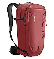 Ortovox Ascent 30 S - zaino scialpinismo - donna, Red