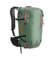 Ortovox Ascent 38 S Avabag - zaino airbag - donna, Green