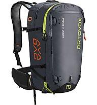 Ortovox Ascent 40 Avabag - zaino airbag, Black