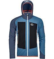 Ortovox Col Becchei - giacca con cappuccio - uomo, Blue