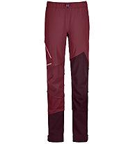 Ortovox Col Becchei - Skitourenhose - Damen, Dark Red