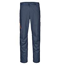 Ortovox Colodri - pantaloni arrampicata - uomo, Blue/Orange