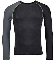 Ortovox Comp Light 120 - maglia tecnica a maniche lunghe - uomo, Black