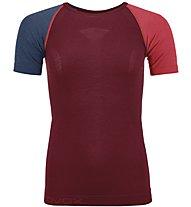 Ortovox Comp Light 120 - maglietta tecnica - donna, Red