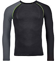 Ortovox Comp Light 120 Long Sleeve - Funktionsshirt Langarm - Herren, Black