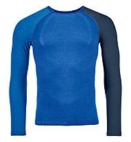 Ortovox Comp Light 120 - maglia tecnica a maniche lunghe - uomo, Blue
