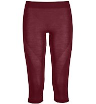 Ortovox Comp Light 120 Short Pants - Unterhose 3/4 lang - Damen, Dark Red