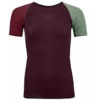 Ortovox Comp Light 120 - maglietta tecnica - donna, Red/Green