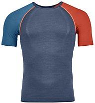 Ortovox Comp Light 120 - maglietta tecnica - uomo, Blue