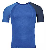 Ortovox Comp Light 120 - maglietta tecnica - uomo, Blue/Dark Blue