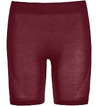 Ortovox Comp Light 120 Shorts - Funktionsunterhose - Damen, Dark Red