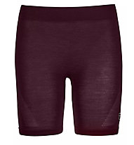Ortovox Comp Light 120 Shorts - Funktionsunterhose - Damen, Dark Red