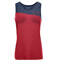 Ortovox Cool Logo - Top trekking - donna, Red