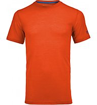 Ortovox Cool S-Sleeve Merino-T-Shirt, Orange
