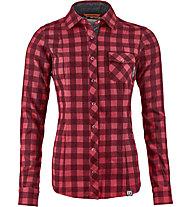 Ortovox Courmayeur - camicia a manica lunga - donna, Red